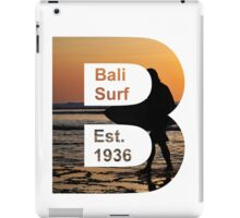 Bali Surf Est. 1936 (Squared) iPad Case/Skin