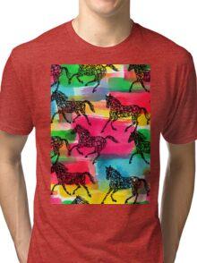 Horse Stampede Tri-blend T-Shirt