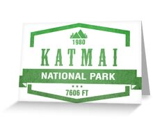Katmai National Park, Alaska Greeting Card