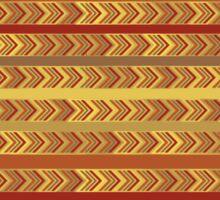 Striped Arrows Sticker