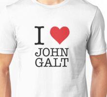 I Heart John Galt Unisex T-Shirt