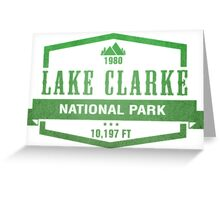 Lake Clark National Park, Alaska Greeting Card