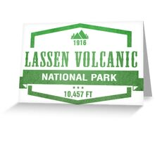 Lassen Volcanic National Park, California Greeting Card