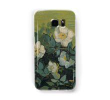 Vincent Van Gogh - Wild roses, Famous Painting. Impressionism. Van Gogh Samsung Galaxy Case/Skin