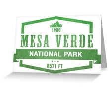 Mesa Verde National Park, Colorado Greeting Card