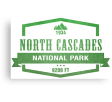 North Cascades National Park, Washington Canvas Print