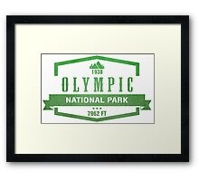 Olympic National Park, Washington Framed Print