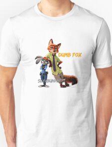 Dumb Fox, Sly Bunny - Zootopia Unisex T-Shirt
