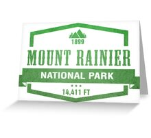 Mount Rainier National Park, Washington Greeting Card