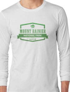 Mount Rainier National Park, Washington Long Sleeve T-Shirt