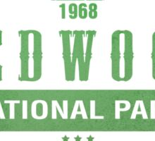 Red Wood National Park, California Sticker