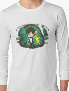 Daryl pika-dinner t-shirt Long Sleeve T-Shirt