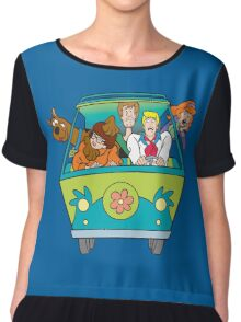 Scooby and company Chiffon Top