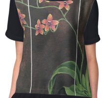 Orchid Painting Chiffon Top