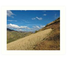 Beautiful mountains Peru3 Art Print