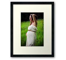 Tina Maternity Framed Print