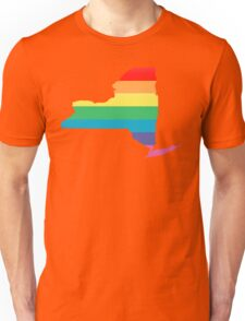 rainbow new york Unisex T-Shirt