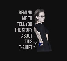 Gillian Anderson: Thong Series Unisex T-Shirt