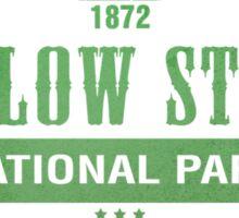 Yellow Stone National Park, Wyoming Sticker
