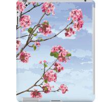 Pink Cherry Blossoms Sakura iPad Case/Skin