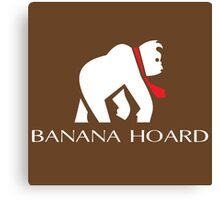 Banana Hoard Canvas Print