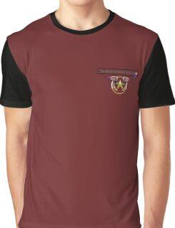 Honor Star zip pocket Graphic T-Shirt