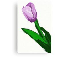 Purple Flower of June Canvas Print