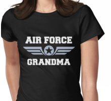 Air Force Grandma Womens Fitted T-Shirt