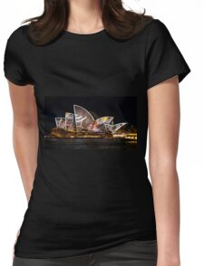 Vivid Womens Fitted T-Shirt