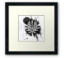 Monster Hunter logo Framed Print