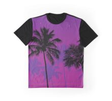 Palm Trees at Dusk  Graphic T-Shirt