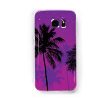 Palm Trees at Dusk  Samsung Galaxy Case/Skin