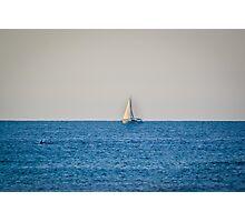 Summer Sailboat Photographic Print
