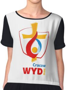 World Youth Day 2016 in Cracow logo Chiffon Top