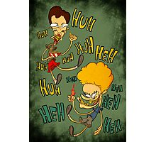 Beavis and Butthead Photographic Print