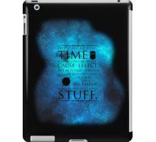 Wibbly Wobbly Timey Wimey Space iPad Case/Skin