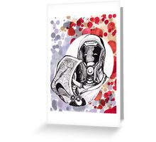 The Engineer and The Soldier Greeting Card