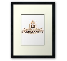 Bachmanity Capital Framed Print