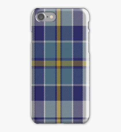 01444 Culloden Blue Dress (Dance) Fashion Tartan  iPhone Case/Skin