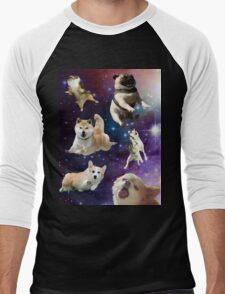 Spacedogs 2 Men's Baseball ¾ T-Shirt
