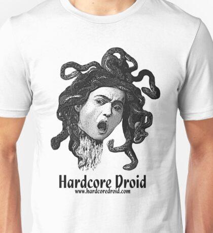 Hardcore-Medusa-White Unisex T-Shirt