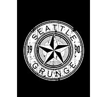 Seattle  Grunge Photographic Print