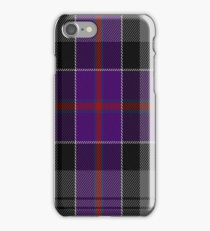 01441 Culloden Grey Tartan  iPhone Case/Skin