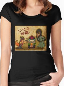 Pilaf and Corps Women's Fitted Scoop T-Shirt