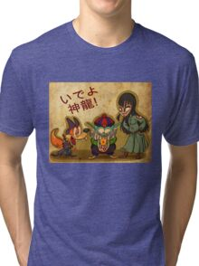 Pilaf and Corps Tri-blend T-Shirt