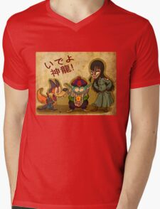 Pilaf and Corps Mens V-Neck T-Shirt