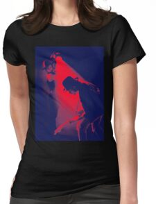u2 - bono and edge Womens Fitted T-Shirt