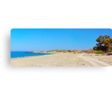 Amazing Beach of Chrissi Island, near Crete, Greece Canvas Print