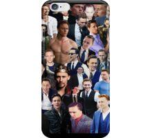 Tom Hiddleston Collage  iPhone Case/Skin