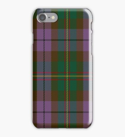 01435 Crossbill Fashion Tartan  iPhone Case/Skin